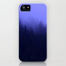 Periwinkle Fog 0367 - Seward, Alaska iPhone Case