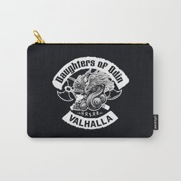 Daughters of Odin viking women - Sons of Odin parody Viking Norse Mythology for Shield Maiden Valkyr Carry-All Pouch