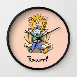 Rawrr! Wall Clock