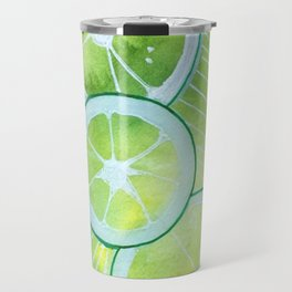 Lime Rings Travel Mug