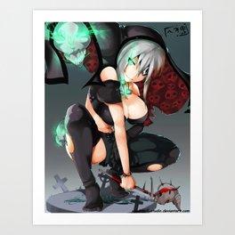 Deathveil Art Print