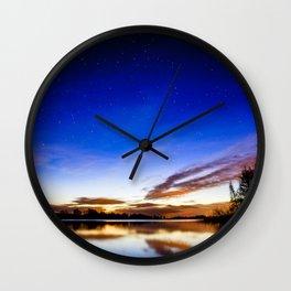 Colorful heaven Wall Clock