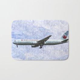 Air Canada Boeing 777 Art Bath Mat