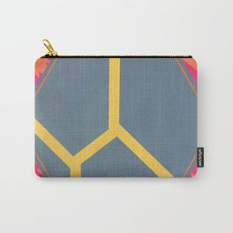 To Bee or Not - pink/orange graphic Carry-All Pouch