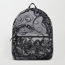 Octomonkey Black Backpack