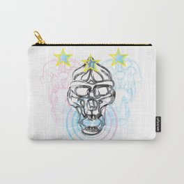 Gorilla Skull with Mandril Skulls Carry-All Pouch