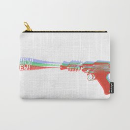 Ray Gun Color Carry-All Pouch