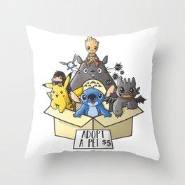 Toothless Throw Pillows | Society6