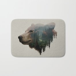 The Pacific Northwest Black Bear Bath Mat