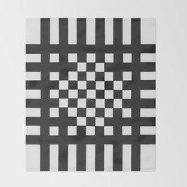 Interwoven Stripes Throw Blanket