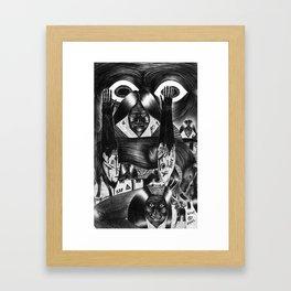 It's Not What It Looks Like Framed Art Print