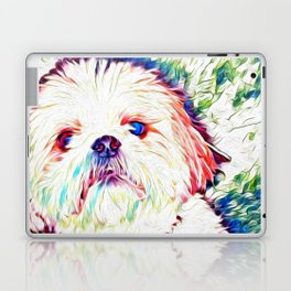 Shih tzu Rainbow Art Laptop & iPad Skin