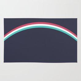 Italo Retro Rainbow Rug