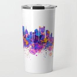 Pittsburgh Skyline Travel Mug