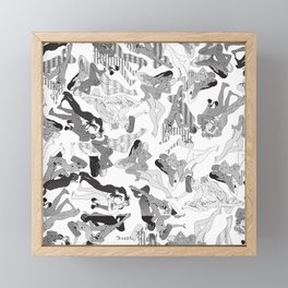 Wild Lines Framed Mini Art Print