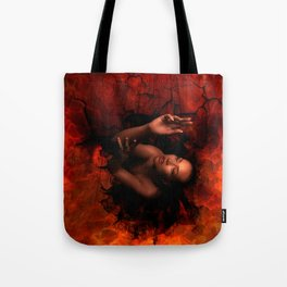 LURES OF THE BLACK HOLE Tote Bag