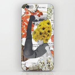 Fonda Flower Collage iPhone Skin