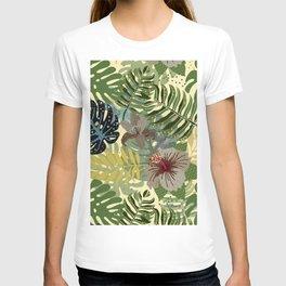 My abstract Aloha Jungle Garden T-shirt