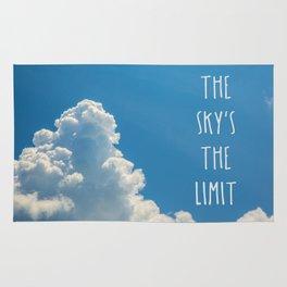 Sky's the limit - cloudscape Rug