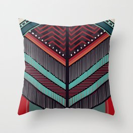 BALMAIN Inspired Pattern Throw Pillow