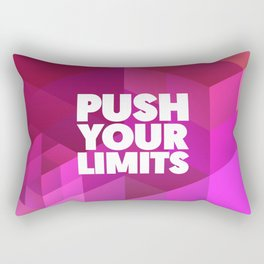 Push Your Limits Rectangular Pillow