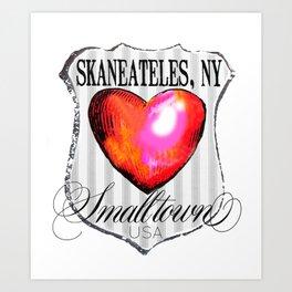 smalltown usa Art Print