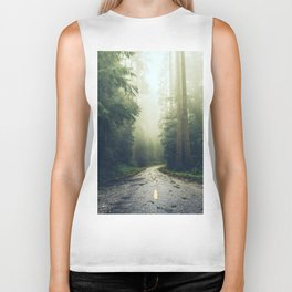 Redwood Forest Adventure - Nature Photography Biker Tank