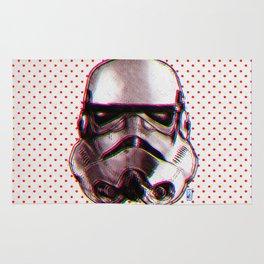 CMYK Stormtrooper by Javi Codina Rug