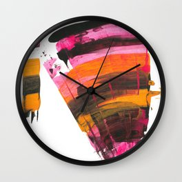 Raincoat Wall Clock