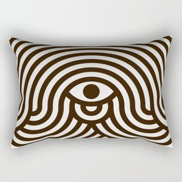 One-eyed monster Rectangular Pillow