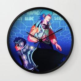 Rhyme Wall Clock