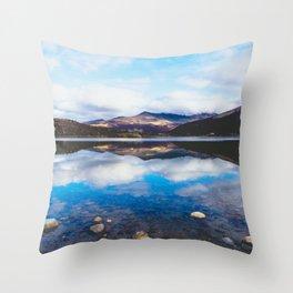 Lago, El Chalten, Patagonia, Argentina Throw Pillow