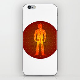 Standing Man iPhone Skin
