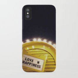 Love n happiness iPhone Case