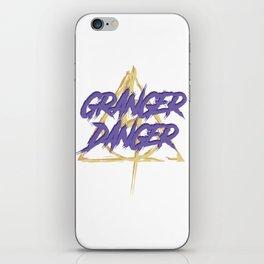 Granger Danger iPhone Skin