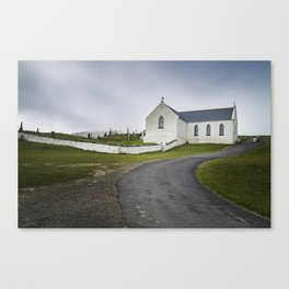 St. Marys Church - Lagg Canvas Print