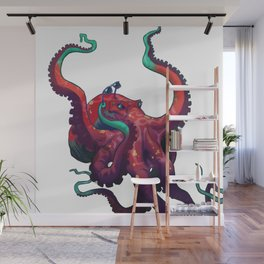 Sweet shades, mister octopus. Wall Mural