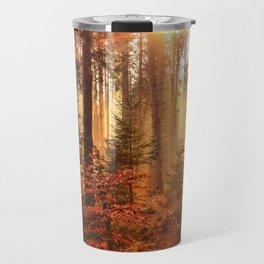 Autumn Landscape Forest Photograph Travel Mug