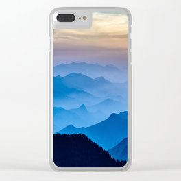 Mountains 11 Clear iPhone Case