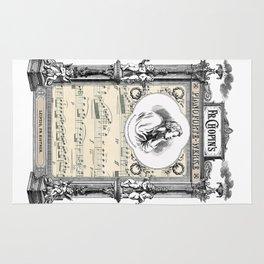 Frederick Chopin Polonaise art Rug