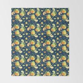 Citrus Splash Throw Blanket