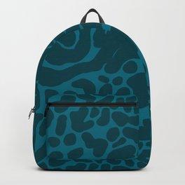 King Cheetah Print in Emerald Teal Backpack