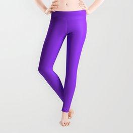 Bright Fluorescent Neon Purple Leggings