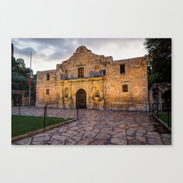 Historic Alamo Mission - San Antonio Texas Canvas Print