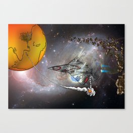Stealth Bomber Canvas Print