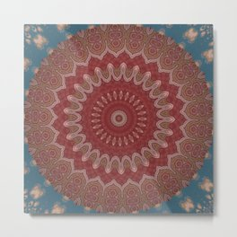 Some Other Mandala 356 Metal Print