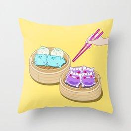 Dim Sum Mon's Throw Pillow