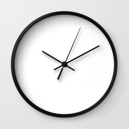 Dear Morning, I Hate You. Bye. Funny T-Shirt Wall Clock