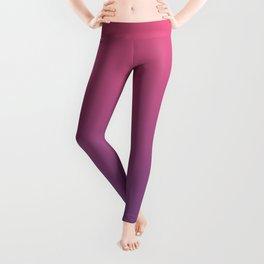 Bright Pink Ultra Violet Gradient   Pantone Color of the year 2018 Leggings