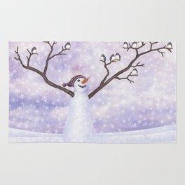 snowman joy Rug
